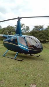 helicoptero a copan